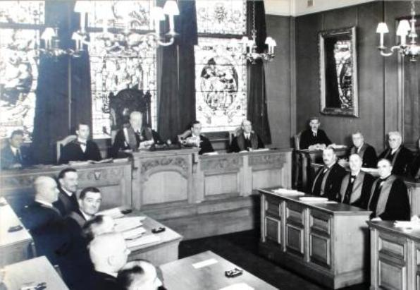 Council Chamber 1927
