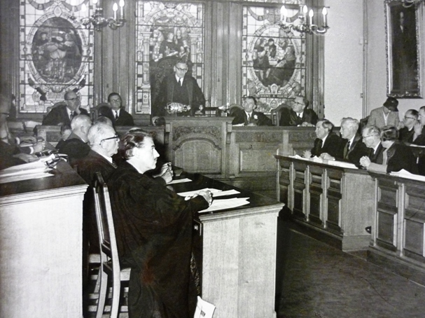 Last RCVS Council Meeting in Red Lion Square September 1960