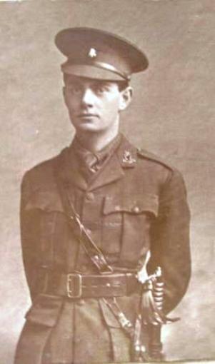 Lieutenant WP Moss 1917
