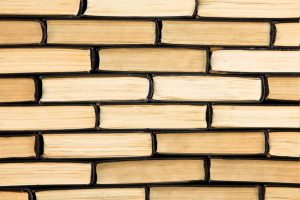10400356 - background of old books, wall of books
