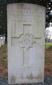Headstone of Peter Keast MRCVS