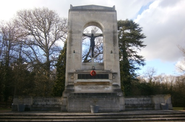 Beaumont House memorial