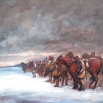 Cavalry before Arras by Herbert Lake