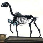 Gift Horse by Hans Haacke, Trafalgar Square