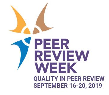 Peer Review Week logo